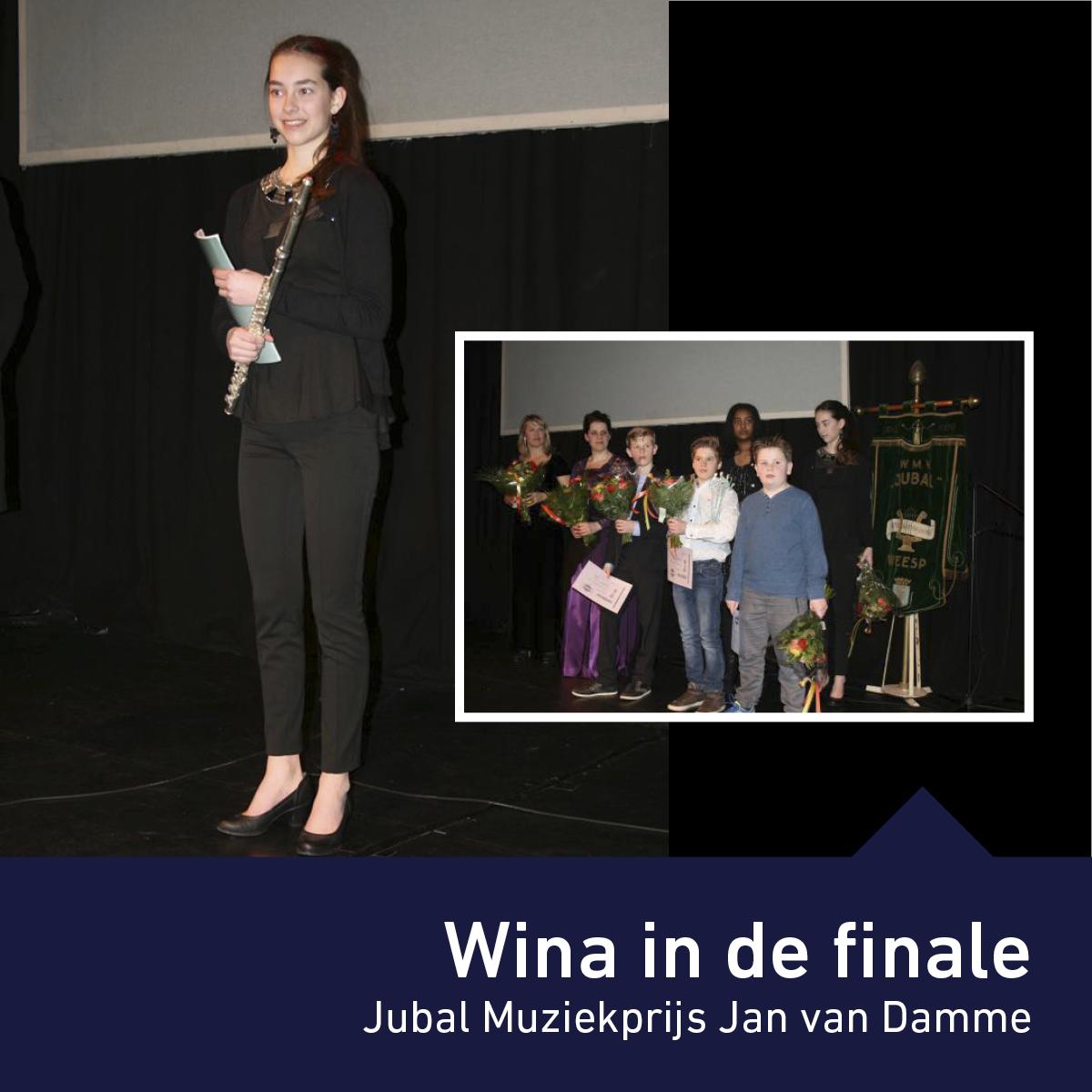 Finale Jubal Muziekprijs Jan van Damme Weesp